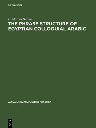 The phrase structure of Egyptian colloquial Arabic