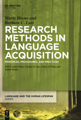 Research Methods in Language Acquisition