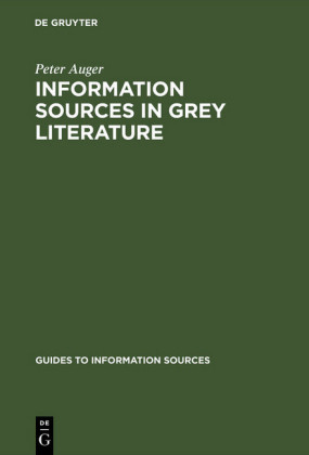 Information Sources in Grey Literature