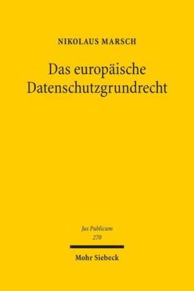 Das europäische Datenschutzgrundrecht
