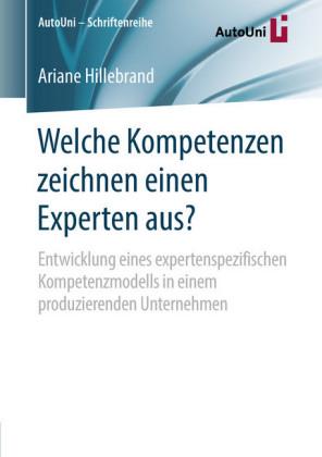Welche Kompetenzen zeichnen einen Experten aus?