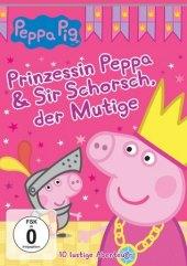 Peppa Pig - Prinzessin Peppa & Sir Schorsch der Mutige, 1 DVD