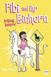 Fibi und ihr Einhorn - Achtung Einhorn! Cover