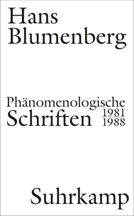 Phänomenologische Schriften