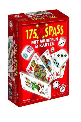 175 x Spaß mit Würfeln & Karten (Spielesammlung)
