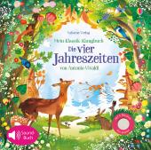 Mein Klassik-Klangbuch: Die vier Jahreszeiten von Antonio Vivaldi, m. Soundeffekten Cover