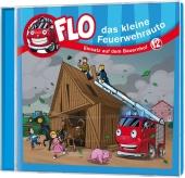Flo, das kleine Feuerwehrauto - Einsatz auf dem Bauernhof, 1 Audio-CD Cover