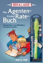 Ben & Lasse - Das Agenten-Knobel-Rate-Buch, m. Geheimstift