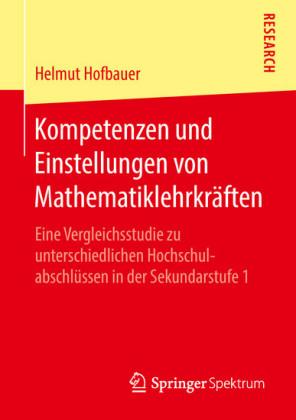 Kompetenzen und Einstellungen von Mathematiklehrkräften