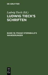 Franz Sternbald's Wanderungen