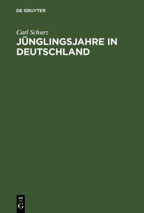 Jünglingsjahre in Deutschland