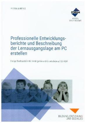 Professionelle Entwicklungsberichte Und Beschreibung Der Lernausgangslage Am Pc Erstellen 1 Cd Rom Produkt