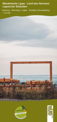 Wanderkarte NRW: Lippischer Südosten