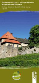 Wanderkarte NRW: Nordlippisches Bergland Cover