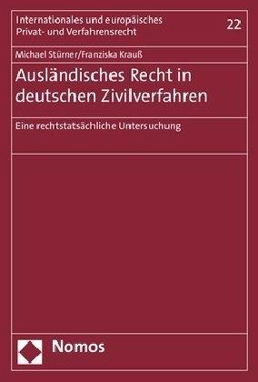 Ausländisches Recht in deutschen Zivilverfahren