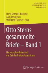 Otto Sterns gesammelte Briefe - Band 1