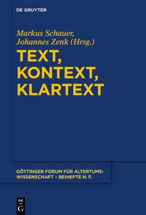 Text, Kontext, Klartext