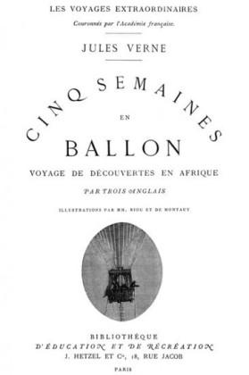 Cinq Semaines en ballon (Édition Originale Illustrée)