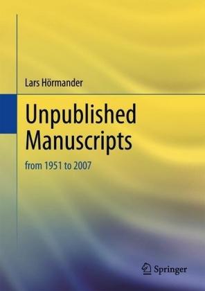 Unpublished Manuscripts