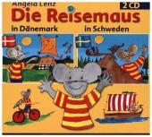 Die Reisemaus in Dänemark und Schweden, 2 Audio-CDs