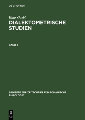 Hans Goebl: Dialektometrische Studien. Band 2