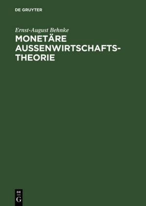 Monetäre Außenwirtschaftstheorie