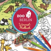 Zoo Berlin Wimmel-Malbuch