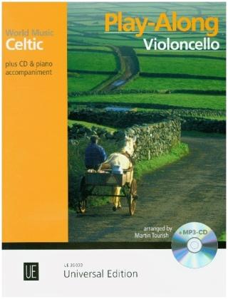 Celtic - Play-Along Violoncello. Ausgabe mit CD