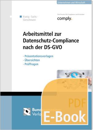Arbeitsmittel zur Datenschutz-Compliance nach der DSGVO