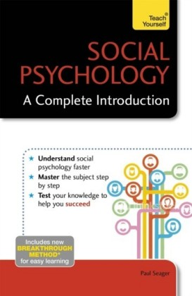 Social Psychology: A Complete Introduction: Teach Yourself