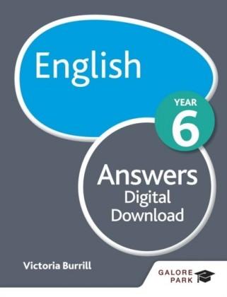 English Year 6 Answers