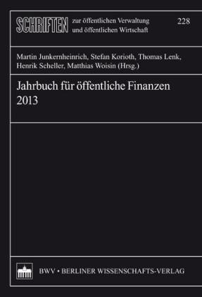 Jahrbuch für öffentliche Finanzen 2013