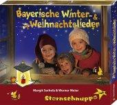 Bayerische Winter- und Weihnachtslieder, 1 Audio-CD Cover