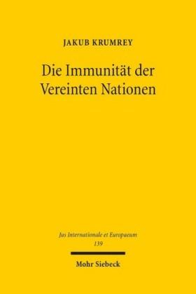 Die Immunität der Vereinten Nationen