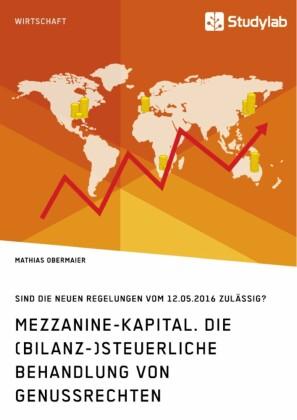 Mezzanine-Kapital. Die (bilanz-)steuerliche Behandlung von Genussrechten
