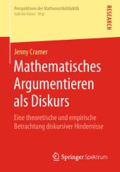 Mathematisches Argumentieren als Diskurs