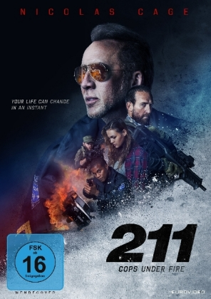 211 - Cops Under Fire, 1 DVD