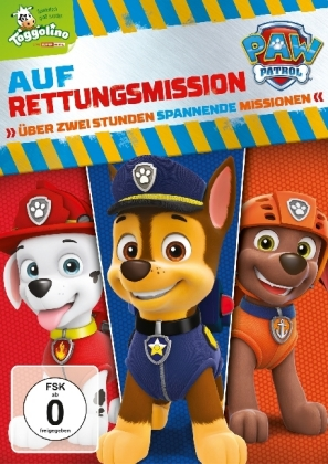 Paw Patrol: Auf Rettungsmission, 1 DVD