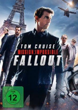 Mission: Impossible 6 - Fallout, 1 DVD