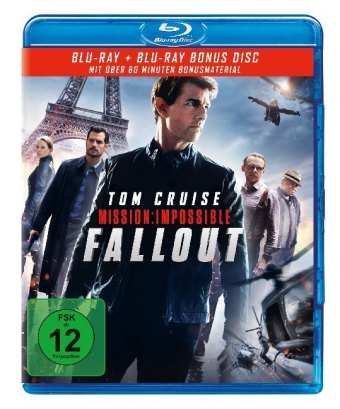 Mission: Impossible 6 - Fallout, 1 Blu-ray