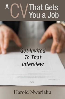 A Cv That Gets You a Job