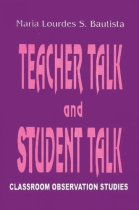 Teacher Talk and Student Talk