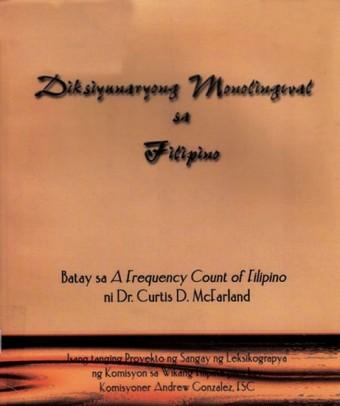 Diksyunaryong Monolingwal sa Filipino