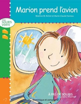 Marion prend l'avion