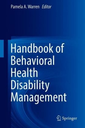 Handbook of Behavioral Health Disability Management