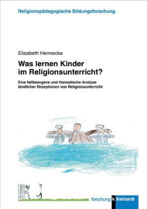 Was lernen Kinder im Religionsunterricht?