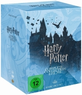 Harry Potter: The Complete Collection - Jahre 1 - 7, 8 DVDs (Repack 2018) Cover