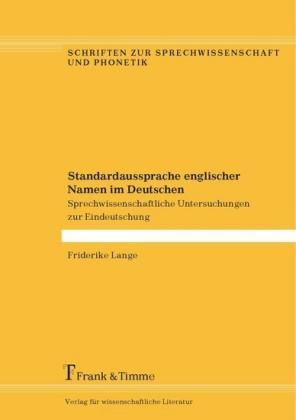 Standardaussprache englischer Namen im Deutschen
