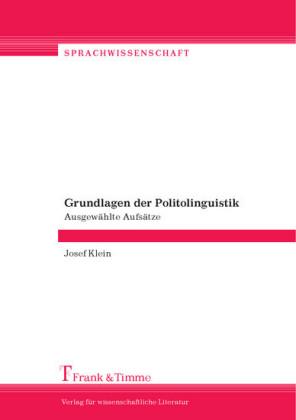 Grundlagen der Politolinguistik
