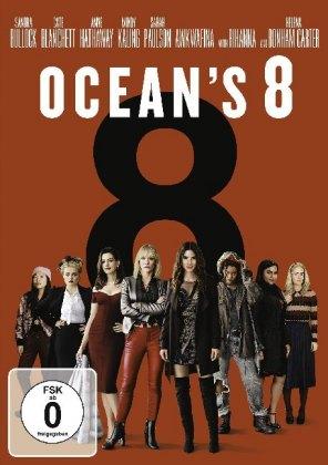 Ocean's 8, 1 DVD